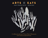 Arts & Eats: A Collaboration Between Mission District Restaurants and Creativity Explored Artists