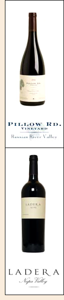 Pillow Road and Ladera Vineyard